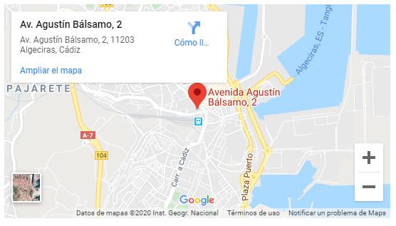 Google Maps Grupo Hábitat Algeciras