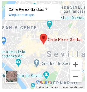 Google Maps Grupo Hábitat Sevilla