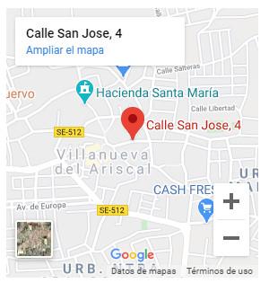 Google Maps Grupo Hábitat Villanueva del Ariscal